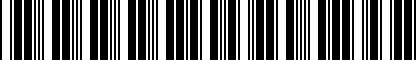 Barcode for 000051541
