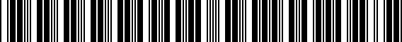 Barcode for 000096304LDSP