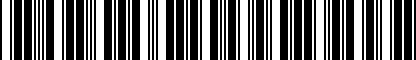 Barcode for DKS051419