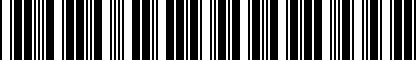 Barcode for DRG019931