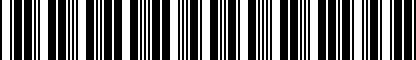 Barcode for ZVW355001