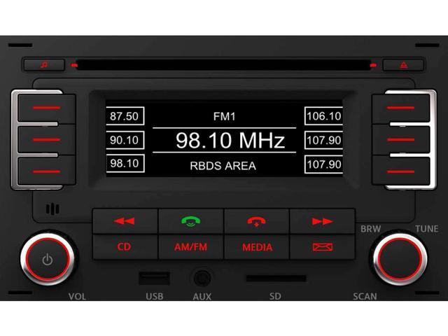 Diagram RMT 100+ MP3 Bluetooth Radio (1JM035157AT) for your 1999 Volkswagen Golf